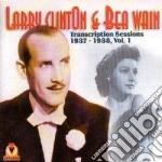 Transcription sess. vol.1 - cd musicale di Larry clinton & bea vain