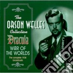 War of the world/dracula - cd musicale di The orson welles collection