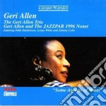 Some aspects of water - allen geri cd musicale di Geri allen trio & nonet