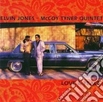 Love & peace - jones elvin cd musicale di Elvin jones/mccoy tyner quinte
