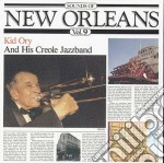 Sounds of new orleans 9 cd musicale di Kid Ory