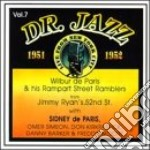 Dr.jazz vol.7 1951-1952 - cd musicale di Wilbur de paris & rampart stre