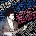 Chicago blues night - dawkins jimmy taylor eddie cd musicale di J.dawkins/f.below/e.taylor