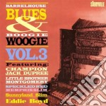 Barrel.blues b.woogie 3 - cd musicale di Speckled red/m.slim/s.slim & o