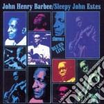 Blues live - estes sleepy john cd musicale di Sleepy john estes & john henry