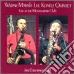 Live montmartre club v.1 - marsh warne konitz lee cd musicale di Warne marsh & lee koniyz quint