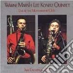 Live montmartre club v.2 cd musicale di Warne marsh & lee ko