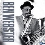 Ben Webster - Live! Providence,rhode.. cd musicale di Ben Webster