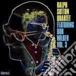Ralph Sutton Quartet - Feat. Bob Wilber Vol.3 cd musicale di Ralph sutton quartet