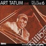 Live volume 6 (1951-53) cd musicale di Art Tatum