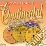 Continental sessions v.3 cd musicale di Artisti Vari