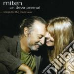 Songs for the inner lover cd musicale di Miten & premal deva
