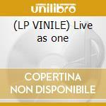 (LP VINILE) Live as one lp vinile di Train Zion
