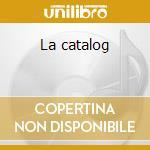 La catalog cd musicale