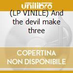 (LP VINILE) And the devil make three lp vinile di PORN/MERZBOW