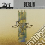 The best of 1979/1988 cd musicale di Berlin