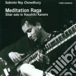 Meditation raga cd musicale di Subroto roy chowdhur