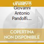 Violin sonatas (1660) cd musicale di Pandolfi mealli g.a.