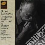 Opere x orchestra (1917-1992) cd musicale di Otto Luening