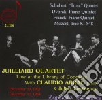 Live at the library of... cd musicale di Quartet Julliard