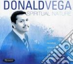 Spiritual nature cd musicale di Donald Vega