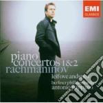 Rachmaninov - Andsnes Leif Ove - Concerti Per Piano N. 1 E 2 cd musicale di ANDSNES LEIF OVE