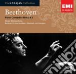CONCERTI PER PIANO N. 3 E 5               cd musicale di KARAJAN HERBERT VON