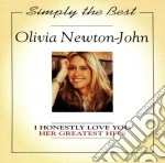 Her greatest hits cd musicale di Newton john olivia
