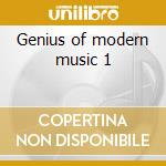 Genius of modern music 1 cd musicale