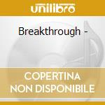 Breakthrough - cd musicale di Lenny le blanc