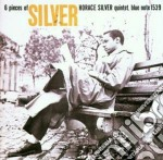 SIX PIECES OF SILVER cd musicale di Horace Silver