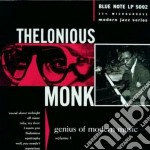 Thelonious Monk - Genius Of Modern Music Vol. 1 cd musicale di Thelonious Monk