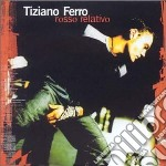 ROSSO RELATIVO cd musicale di Tiziano Ferro