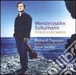 CONCERTI PER VIOLINO                      cd musicale di Renaud Capucon