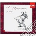 LE 6 SUITES PER VIOLONCELLO               cd musicale di Mstisla Rostropovich
