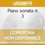 Piano sonata n 3 cd musicale di Dong-hyek Lim