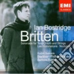 LES ILLUMINATIONS, SERENADE, NOCTURNE cd musicale di Ian Bostridge