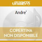 Andre' cd musicale di Andre Maurice