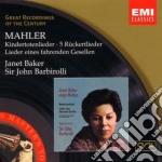 KINDERTOTENLIEDER                         cd musicale di John Barbirolli