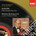 CONCERTI PER VIOLONCELLO                  cd musicale di Mstisla Rostropovich