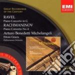 CONCERTO PER PIANOFORTE                   cd musicale di BENEDETTI-MICHELANGE