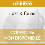 Lost & found cd musicale di Van dhal ian