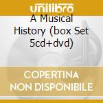 A MUSICAL HISTORY (BOX SET 5CD+DVD) cd musicale di BAND (THE)