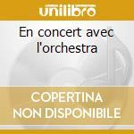 En concert avec l'orchestra cd musicale di Mitsouko les rita