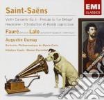 Dumay/yazaki/rosenthal - Saint-saens/faure/lalo cd musicale di Saint-saens