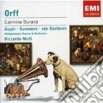 CARMINA BURANA                            cd musicale di Riccardo Muti