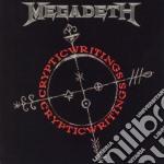 CRYPTIC WRITINGS + 3 BONUS TRACKS cd musicale di MEGADETH