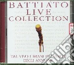 LIVE COLLECTION cd musicale di Franco Battiato
