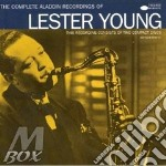 The complete aladdin cd musicale di Lester Young