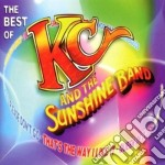 THE BEST OF cd musicale di KC & THE SUNSHINE BAND